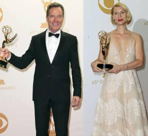 Comme en 2013, Bryan Cranston (Breaking Bad) et Claire Danes (Homeland) sont tous les deux nominés en 2014 aux Emmy Awards, dans la catégorie Meilleur acteur dans une série dramatique.