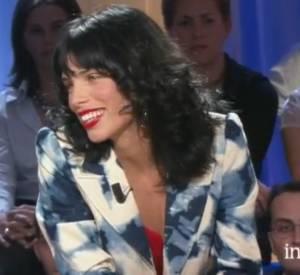 """Maïwen chez Thierry Ardisson en 2001 dans """"Tout le monde en parle""""."""