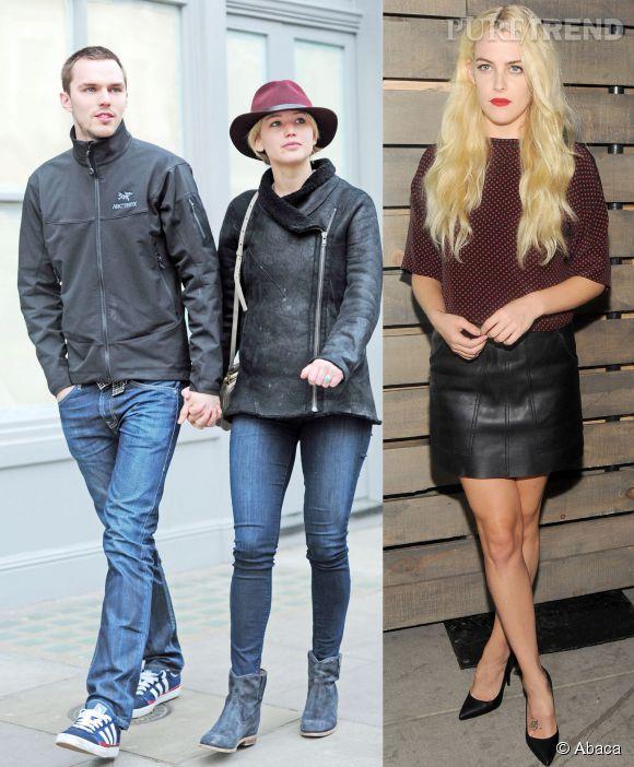 Le petit ami de Jennifer Lawrence, Nicholas Hoult, aurait été aperçu très proche de Riley Keough lors d'une soirée à New-York.