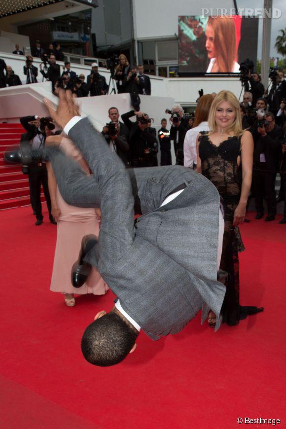 Brahim Zaibat est le seul à enflammer le tapis rouge du festival de Cannes. Avec cette figure de break dance, il prouve qu'il a la danse dans la peau!