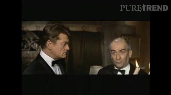 """Louis de Funès dans """"Fantômas"""" en 1964."""