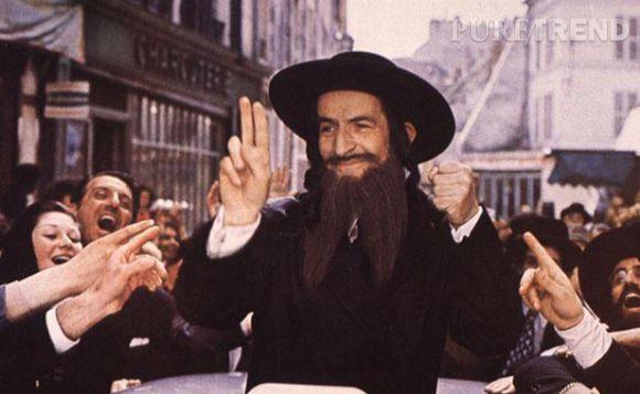 """Louis de Funès, dans """"Les aventures de Rabbi Jacob"""", en 1973."""
