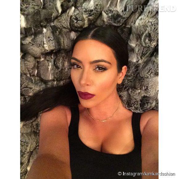 Kim Kardashian, un show toujours aussi hot sur Instagram.