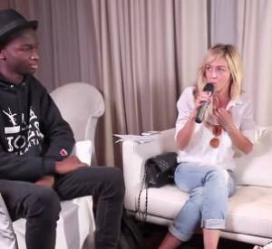 Enora Malagré et Pharrell Williams, dans l'interview si contestée.