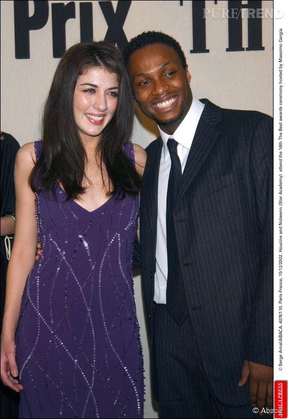 Houcine et Nolwenn Leroy lors de la 16ème cérémonie des The Best Awards en décembre 2002.