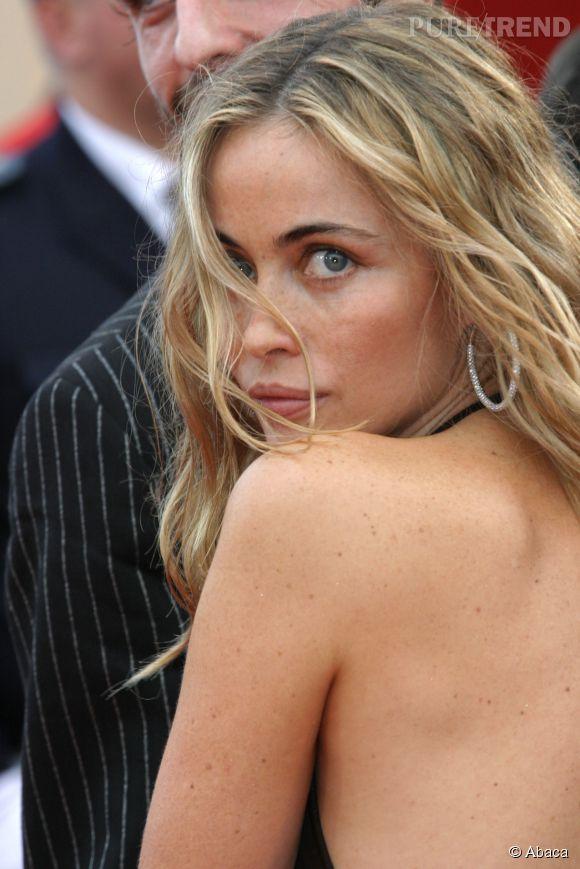 Emmanuelle Béart à Cannes en 2008. Certainement l'un des plus beaux clichés de la star.