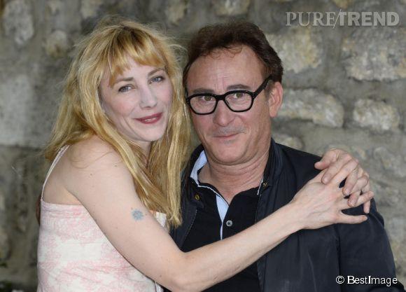 """Julie Depardieu et le réalisateur du film """"A la vie"""", Jean-Jacques Zilbermann."""
