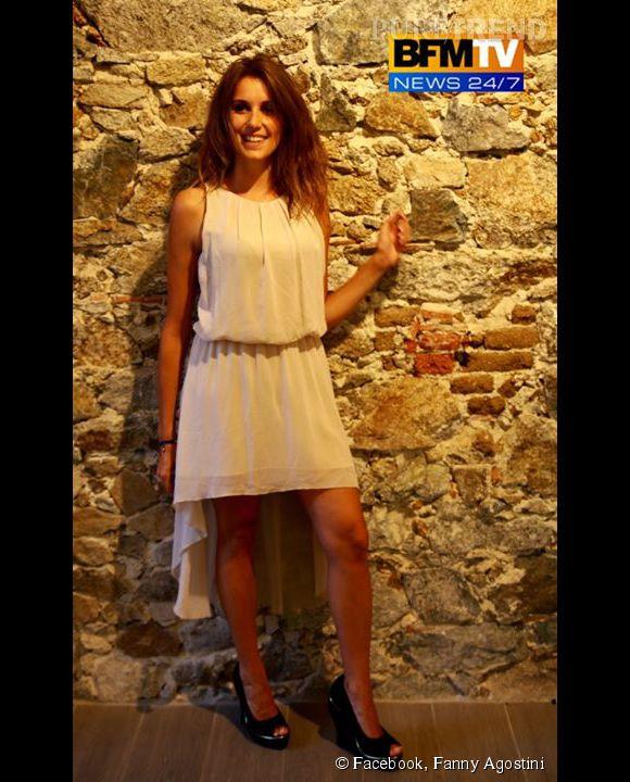 Fanny Agostini, une présentatrice météo qui a du style.