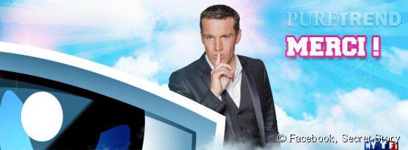 """""""Secret Story"""", une émission présentée par Benjamin Castaldi sur TF1."""