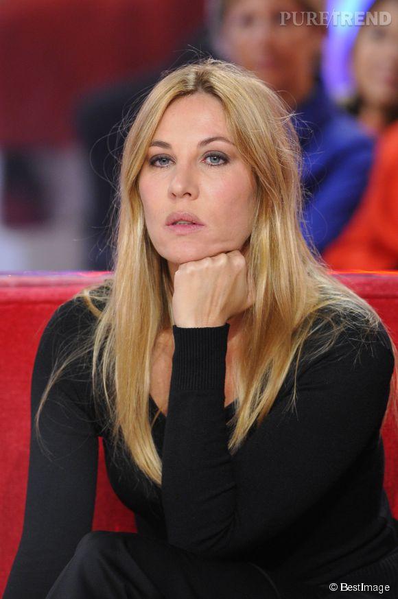 Mathilde Seigner ne veut plus retourner sur des plateaux TV.