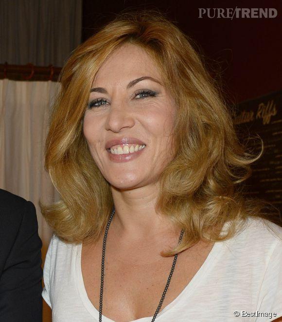 Mathilde Seigner, l'actrice aux coups de sang se fait tacler par Laurent Ruquier.