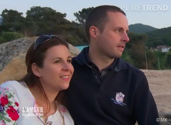 Virginie et Mathieu regardent visiblement dans la même direction.