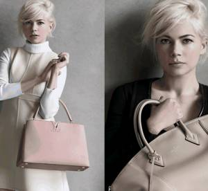 Michelle Williams : rétro et canon pour Vuitton !