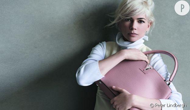 Michelle Williams sublime pour Louis Vuitton pour l'automne-hiver 2014/2015