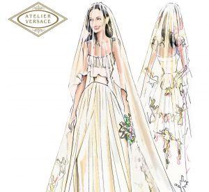 Robe de mariee d'angelina jolie