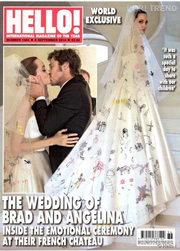 Angelina Jolie et Brad Pitt : le magazine Hello ! dévoile les détails de leur mariage intime.