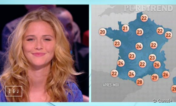 """Raphaëlle Dupire présentera sa dernière météo ce soir dans """"Le Grand Journal""""."""