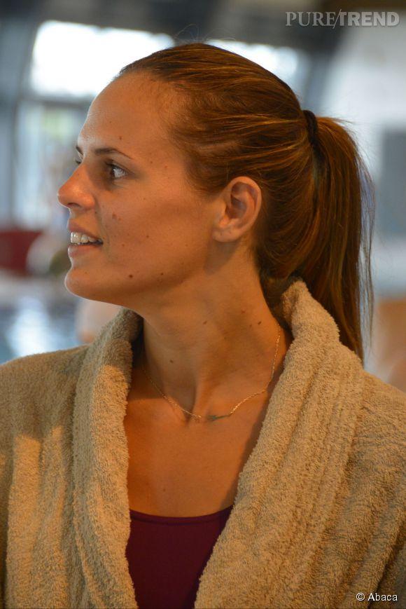 Laure Manaudou a été victime d'un accident de scooter ce 7 septembre 2014.