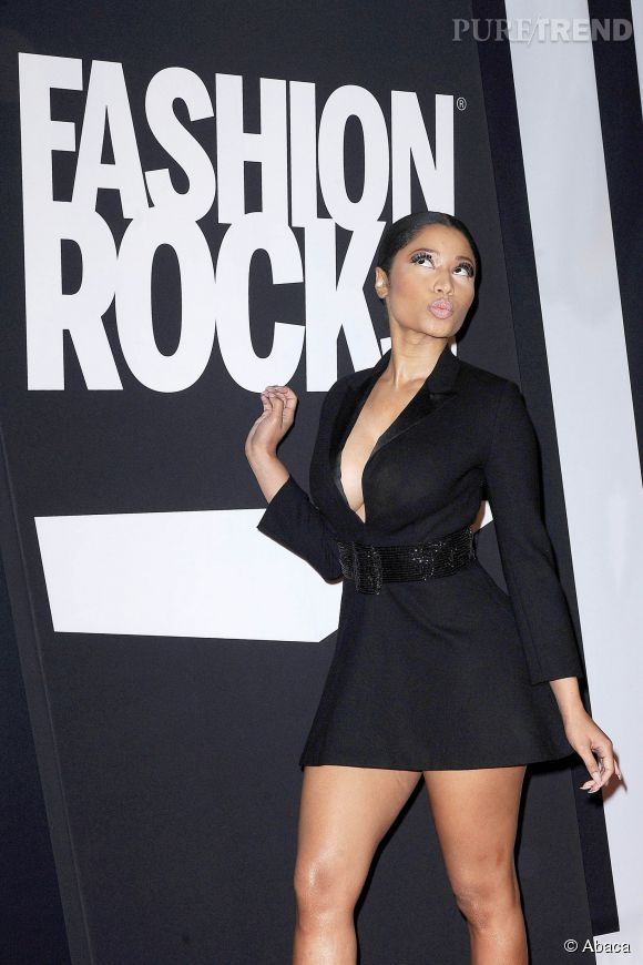 Nicki Minaj à la soirée Fashion Rocks le 9 septembre 2014 à New York.