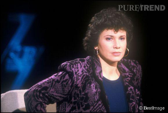 """Anne Sinclair se souvient de ses années passées à """"7sur7""""."""
