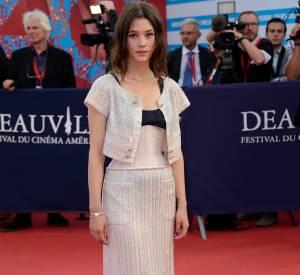 """Astrid Bergès-Frisbey était à Deauville pour présenter """"I Origins""""."""