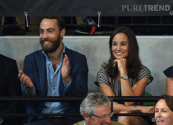 Pippa Middleton attend sagement son beau Nico en compagnie de son frère ! La sagesse incarnée cette Pippa !