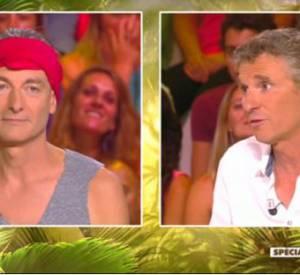 """Denis Brogniart, attaqué sur son retour dans """"Koh-Lanta"""" par Gilles Verdez, répond avec émotion."""