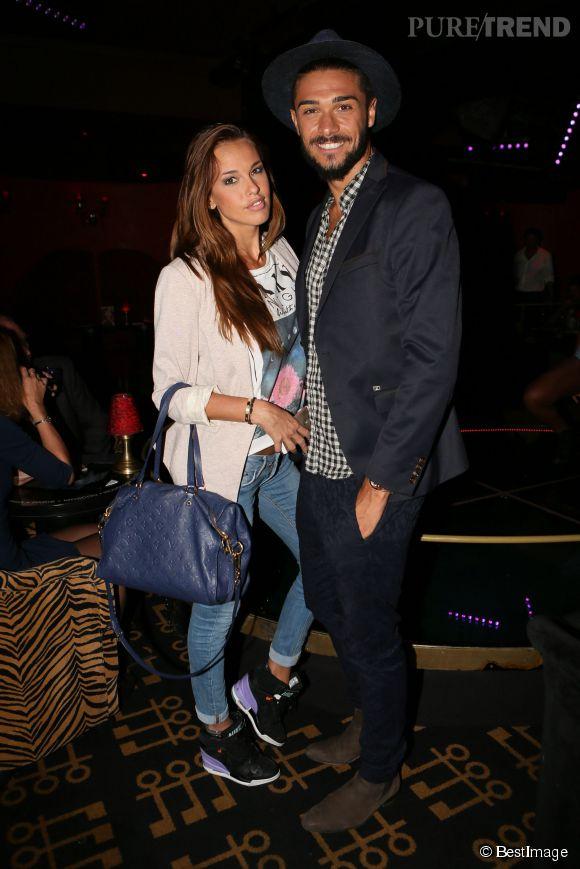 Vanessa Lawrens et son petit ami, Julien Giurado, ont choisi un look nettement plus sobre qu'à leur habitude.