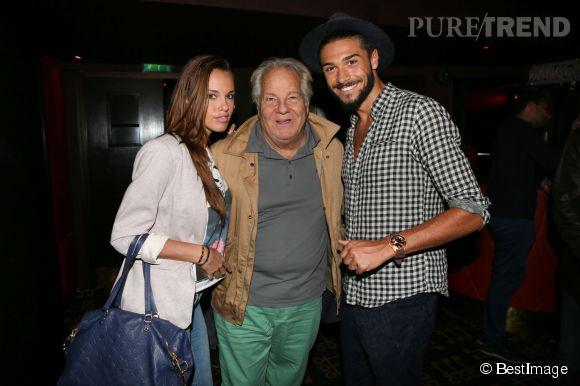 Vanessa Lawrens, Julien Guirado et Massimo Gargia, la rencontre improbable. Mais que vient faire ce vieux monsieur (74 ans, tout de même) au lancement d'une chaîne porno ?