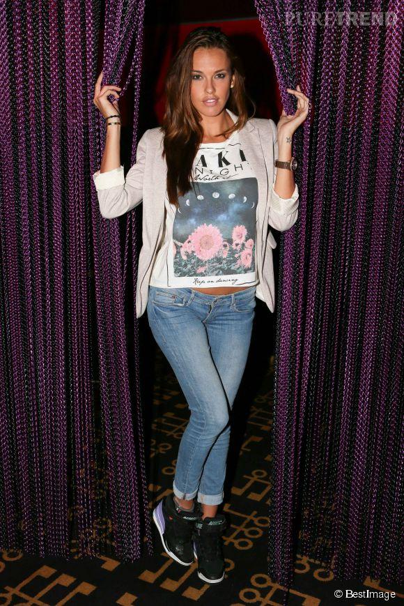 Vanessa Lawrens, hier soir au lancement de la chaîne porno Penthouse black.