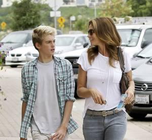 Cindy Crawford : son fils Presley Gerber 15 ans, futur beau gosse d'Hollywood ?