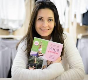 Adeline Blondieau a publié un livre sur le yoga prénatal en fevrier 2014. En ce mois de septembre, elle a participé à un entraînement de yoga solidaire pour Mécenat Chirurgie Cardiaque.