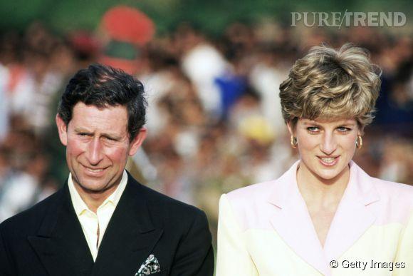 Le prince Charles et Lady Di lors de leur tumultueux voyage en Inde en 1992.