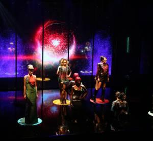 Le show réalisé par Make Up For Ever était impressionnant, le public était conquis et nous aussi !