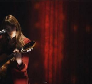 """Extrait du CD/DVD live """"Carla Bruni à L'Olympia""""."""