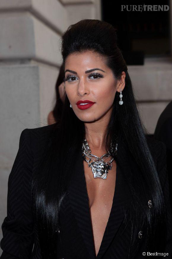 Ayem était lundi soir l'invitée d'un gala de charité organisé à Monaco.