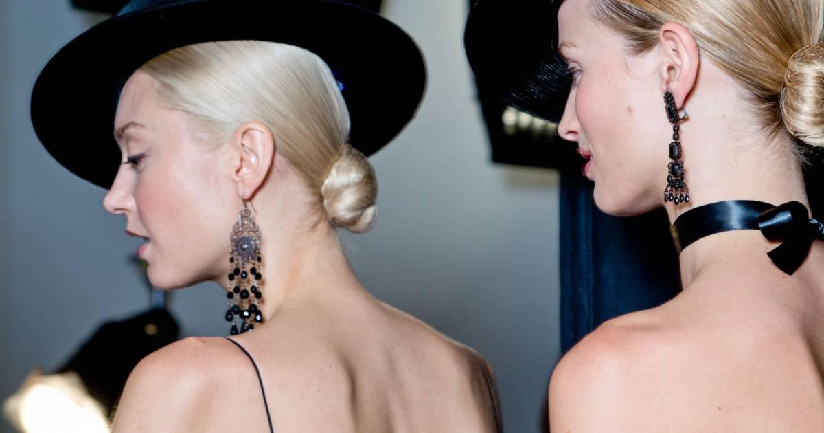 Coiffure 6 Modeles De Chignons Pour Les Cheveux Mi Longs Puretrend