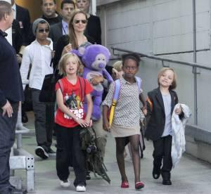 Angelina Jolie et Brad Pitt : leurs enfants dans l'humanitaire !