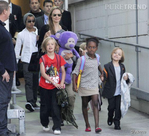 Les enfants d'Angelina Jolie et Brad Pitt se lancent dans l'humanitaire dès maintenant !