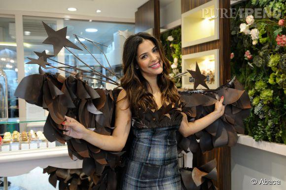 Gyselle Soares, la jolie gourmandise du Salon du Chocolat 2014.