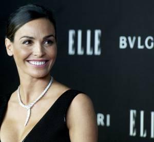 Inés Sastre: beauté renversante et décolleté avantageux aux ELLE Style Awards'14