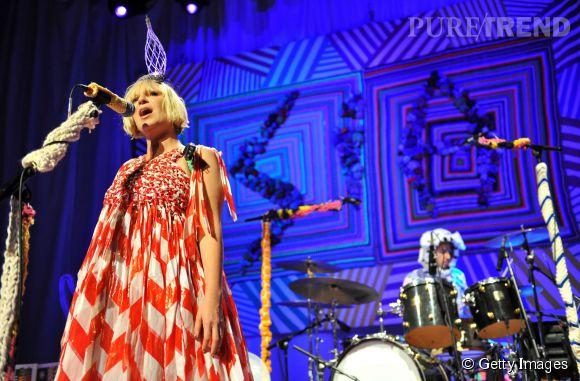 """Sia viendra chanter sur le plateau de """"DALS 5"""" le 1er novembre 2014."""