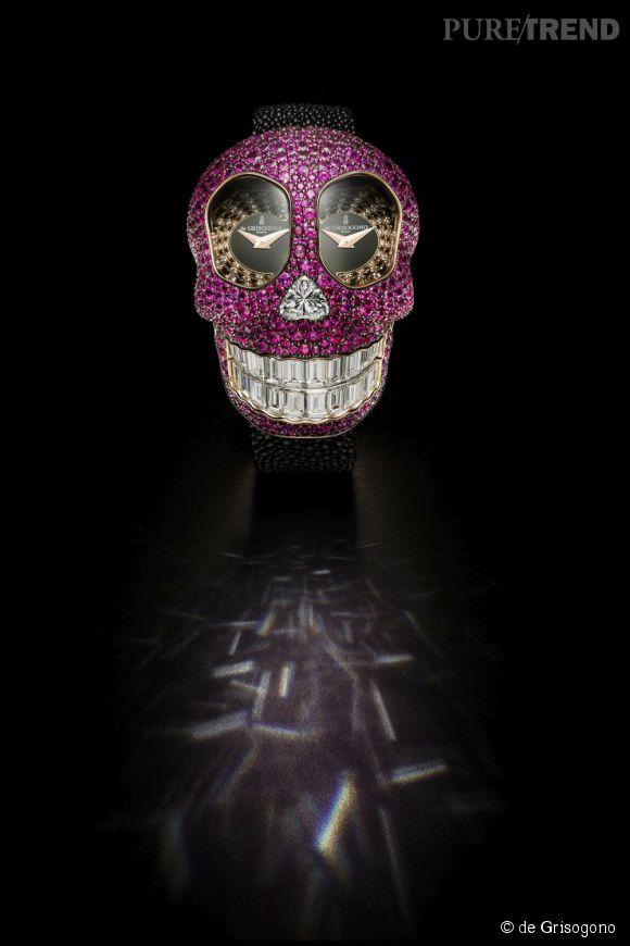 de Grisogono dévoile la montre Crazy Skull.