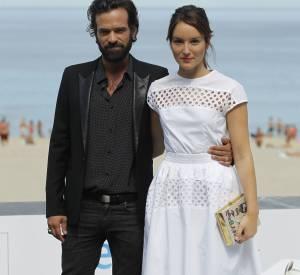 Rmain Duris et Anaïs Demoustier au 62ème Festival du film de San Sebastian, le 20 septembre 2014.