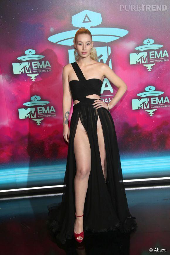 Iggy Azalea et son fendu catastrophe aux MTV Europe Music Awards 2013 !