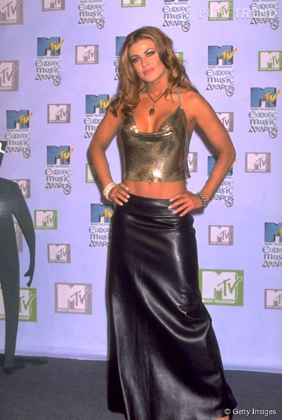 Carmen Electra, la grande classe aux MTV Europe Music Awards 1999.