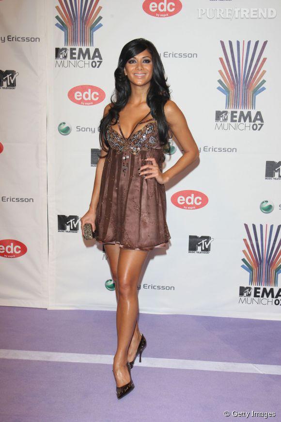 Nicole Scherzinger en quasi nuisette aux MTV Europe Music Awards 2007 à Munich.