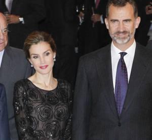 Letizia d'Espagne : top glitter et couronne de tresses, tendance la reine !