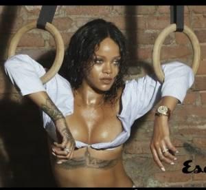 Rihanna : nue et hot dans la vidéo de son shooting pour Esquire UK