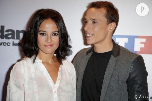 """Alizée et Grégoire lors du lancement des """"Danse avec les stars 4"""". Depuis, ils ne se sont plus quittés. Ils seront tout les deux membres de la prochaine tournée DALS."""